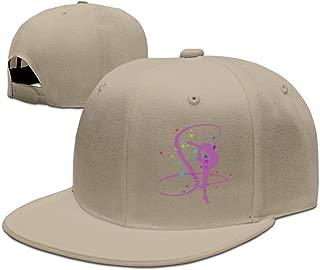 Usa Rhythmic Gymnastics Sport Flat Bill Adjustable Hat - Hip Hop Baseball Hat