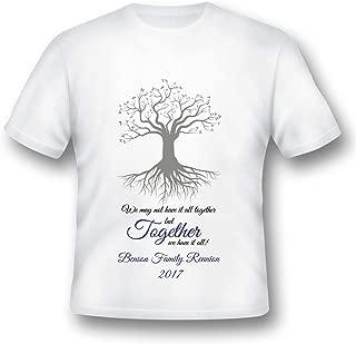 Family Reunion Shirt, Family Printed T-Shirt, Printed Tee Shirt, Family Reunion Ideas, Family Event Ideas, Reunion Ideas
