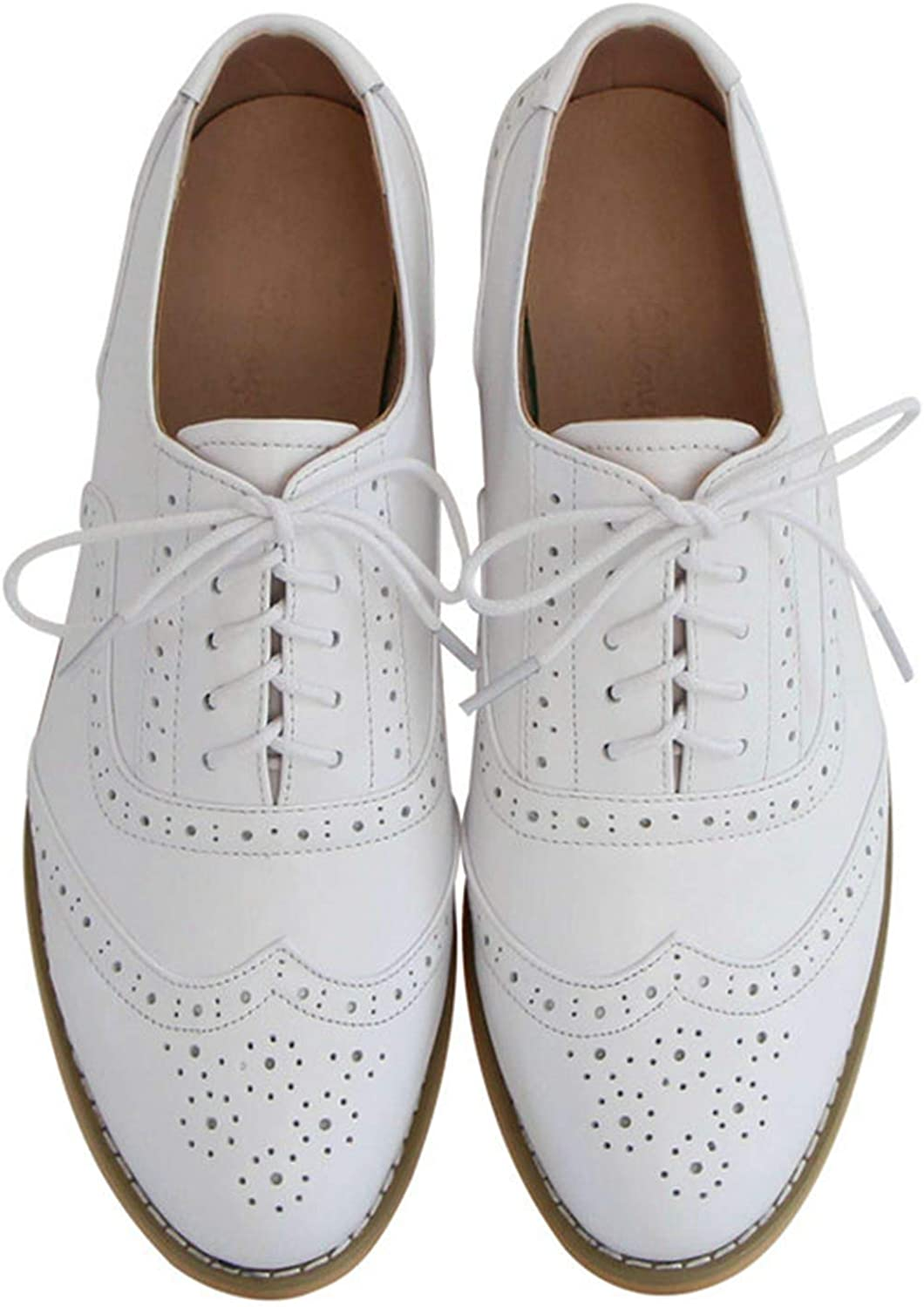 Big Size 33-45 New Hot British Style Handmade Genuine Leather shoes College Oxford shoes for Women