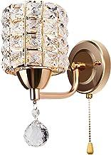 homozy E26/E27 Cristal Lâmpada de Parede, Arandelas de Parede de Luz Dispositivo Elétrico de Iluminação, Interruptor de Co...