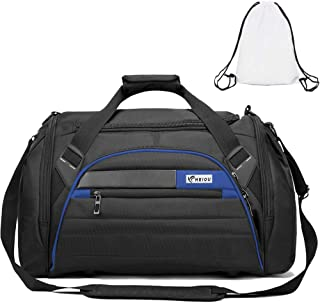 TGYM Sports Duffel 4.0 Gym Bag for Men with Shoes Compartment Travel Duffle Bag with Extra Drawstring Backpack and Detachable Strap