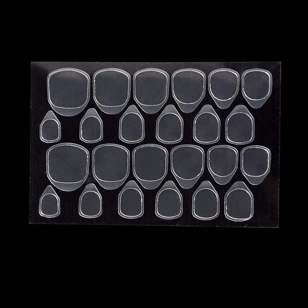 ペットイルドアミラーつけ爪用 両面テープ ネイル 推奨超強力両面テープ ネイル両面接着剤 ネイルチップ用粘着グミ 10枚セット (スタイル1)