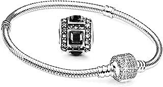 6b2fac53509a Amazon.es: Pulseras Pandora Hombre - Acero inoxidable: Joyería