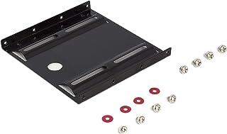 """Ewent EW7001 Staffa con Adattatore HHD/SSD per Hard Disk da 2,5"""", Alloggiamento da 3,5"""", 8 viti incluse, Nero [Italia]"""