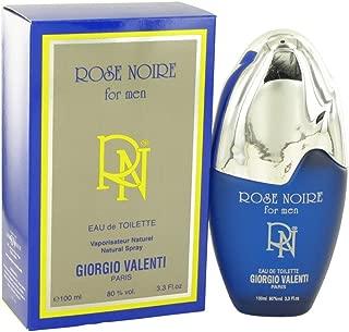 ROSE NOIRE by Giorgio Valenti Men's Eau De Toilette Spray 3.4 oz - 100% Authentic