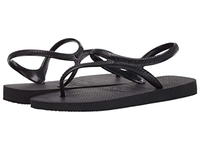 Havaianas Flash Urban Flip Flops (Black) Women