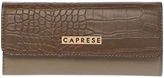 Caprese Dark Brown Leather Women's Wallet (LIZ)