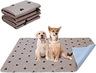 PUPTECK 2 Pack Reusable Dog Pee Pads - Waterproof and Washable for Your Pet Training Housebreaking