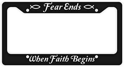 fear ends when faith begins
