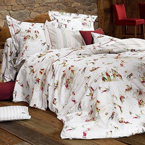 Anne de Solène Heidi Parure de lit Multicolore 155 x 220 + 80 x 80