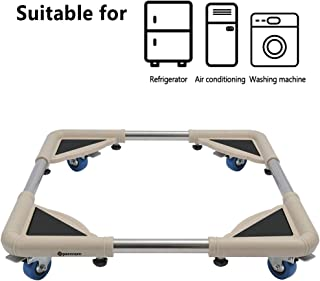 SPACECARE 4 Rubber Locking Swivel Wheels Telescopic Washing Machine Dolly Furniture Dolly Roller with Size Adjustable-STFD001