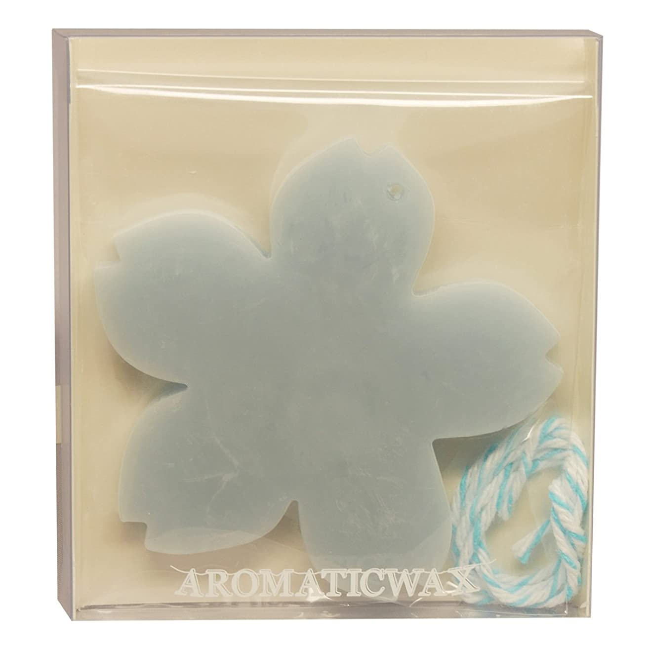 乳白色実行する弱いGRASSE TOKYO AROMATICWAXチャーム「さくら」(BL) ローズマリー アロマティックワックス グラーストウキョウ