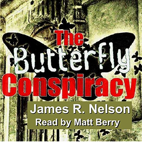The Butterfly Conspiracy audiobook cover art