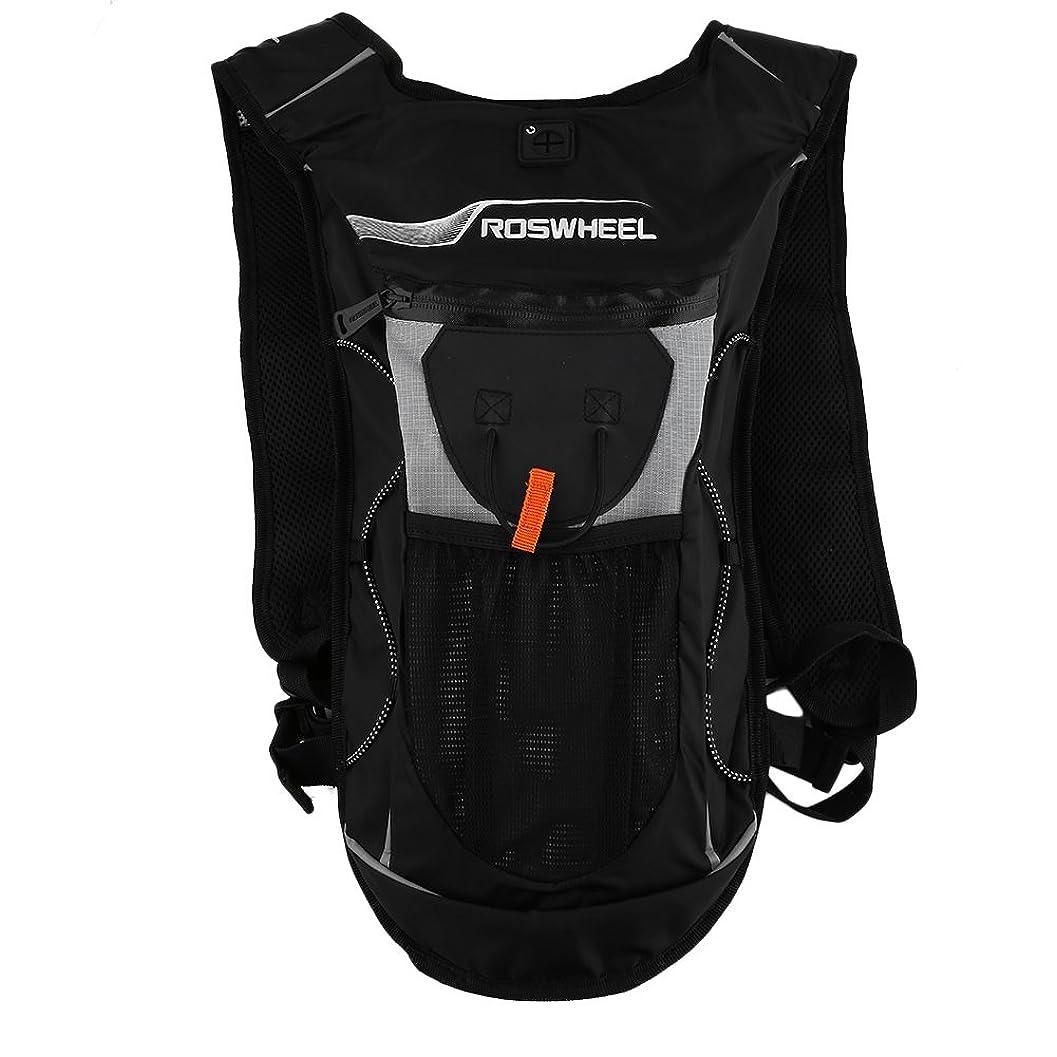 真実静かに花輪2L ウォーターバッグ ハイドレーション ハイキング/ランニング/クライミング用 多機能 通気性 サイクリングバッグ 自転車バックパック