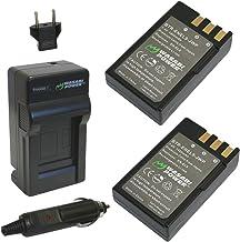 EN-EL9 Pickle Power x2 2000mAh 7.4V Battery Pack and Smart LED Dual USB Charger Compatible with Nikon D40 D40x D60 D3000 D5000 Camera as EN-EL9a.