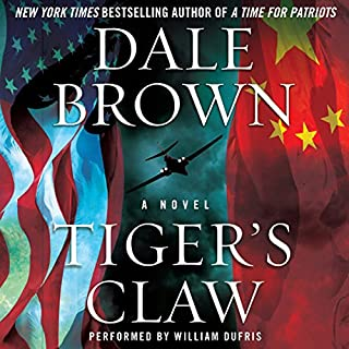 Tiger's Claw audiobook cover art