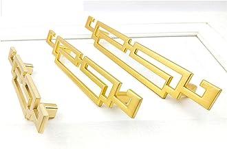 4 Pcs Pull Handvat Zinklegering Chinese Antieke Kastdeur Lade Handvat Meubels Kast Kledingkast Handvat (Gouden)