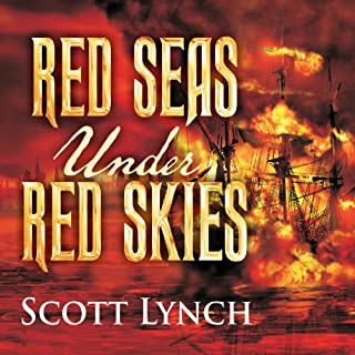 Red Seas Under Red Skies audiobook cover art