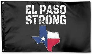 MANBABAIHUO El Paso Strong Flag Garden Flag Garden Decor Flags 3x5