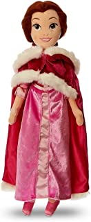 Disney Belle Plush Doll with Pink Cape - Beauty and The Beast - Medium - 19 1/2''