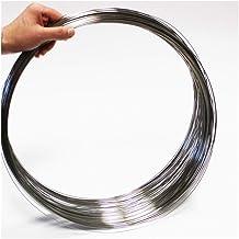 1Pc 0.2 2 Loop Springs 1000mm Stainless Steel Super Long Tension Spring Extension Spring,Wire Diameter 0.2mm Out Diameter 2mm Length1000mm