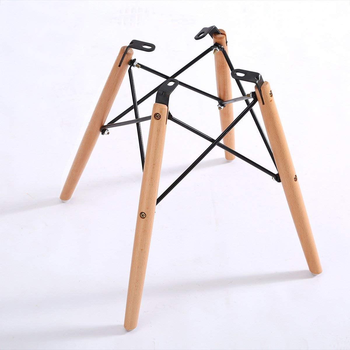 GY-C Chaises Bar minimaliste moderne en bois massif + tissu + fer forgé loisirs maison tabouret pratique Tabouret haut fbn/D C