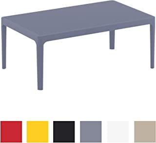 Amazon.fr : table de jardin plastique - Gris