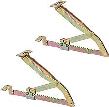 Gedotec-fauteuil rechtopstaande steun vergrendelbaar beslag 375 mm  fauteuilhouder verstelbaar   klephouder in 19 stappen...
