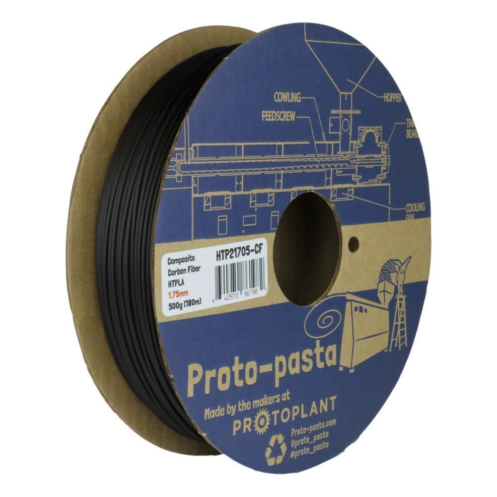 Proto-pasta Now free shipping HTP21705-CF High Temperature Fiber PLA favorite Carbon Spool