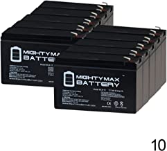 Mighty Max Battery ML9-12 - 12V 9Ah Replacement Battery for CSB HR1234WF2-10 Pack Brand Product