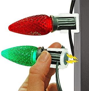 Magnetic Clip for C9 Socket Light Strings - 25 Pack