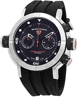 Swiss Legend Aqua Diver Chronograph Black Dial Watch SL-10622SM-01-BB-OA