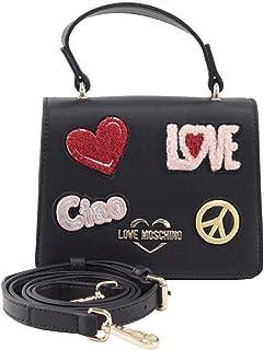 Love Moschino Women's Ciao Patch Mini Crossbody Handbag