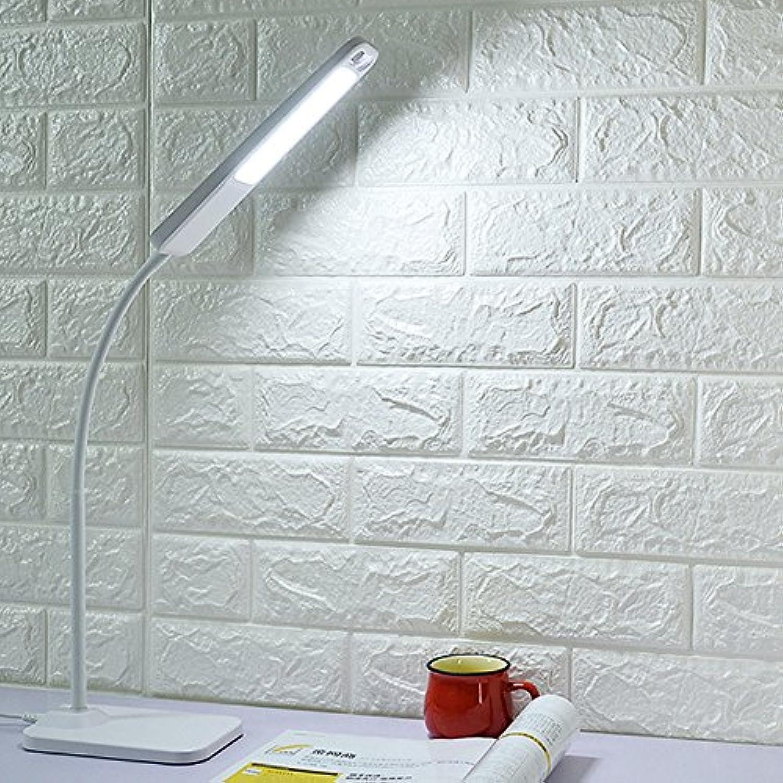 Tischlampe Modern Schlafzimmerlampe LED Living Lampe USB Nachtlicht 65Cm 4W Wei