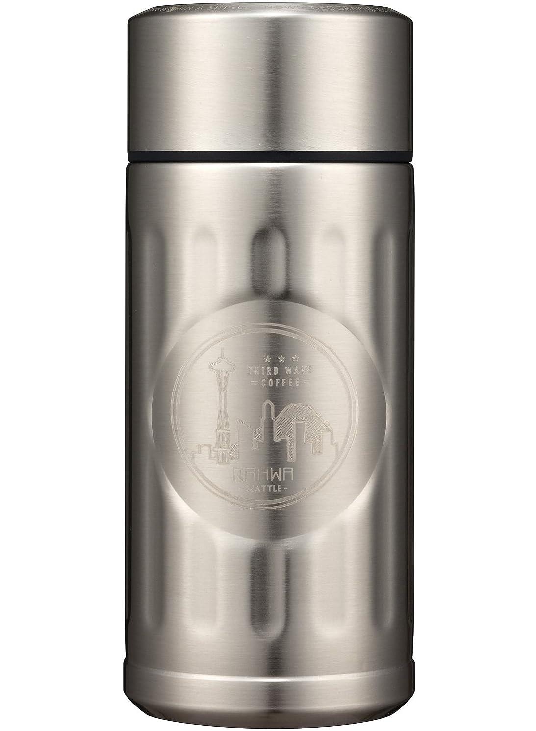 追記威信貸すシービージャパン 水筒 シルバー 200ml 直飲み カフア コーヒー ボトル QAHWA