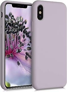 kwmobile telefoonhoesje compatibel met Apple iPhone X - Hoesje met siliconen coating - Smartphone case in Dream of Cotton