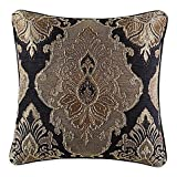 J. Queen New York Bradshaw Black 20' Square Pillow