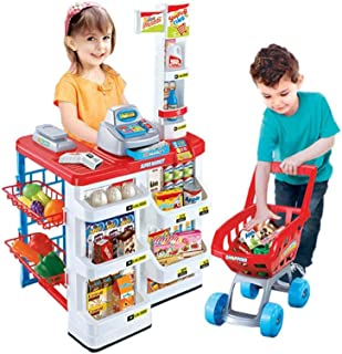 Supermarket Playset Cashier Toy