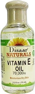Naturals Vitamin E Oil 70000 IU Suitable For Vegetarians Whitening Essential Oil Vitamin C Serum Anti-Wrinkle Face Serum H...