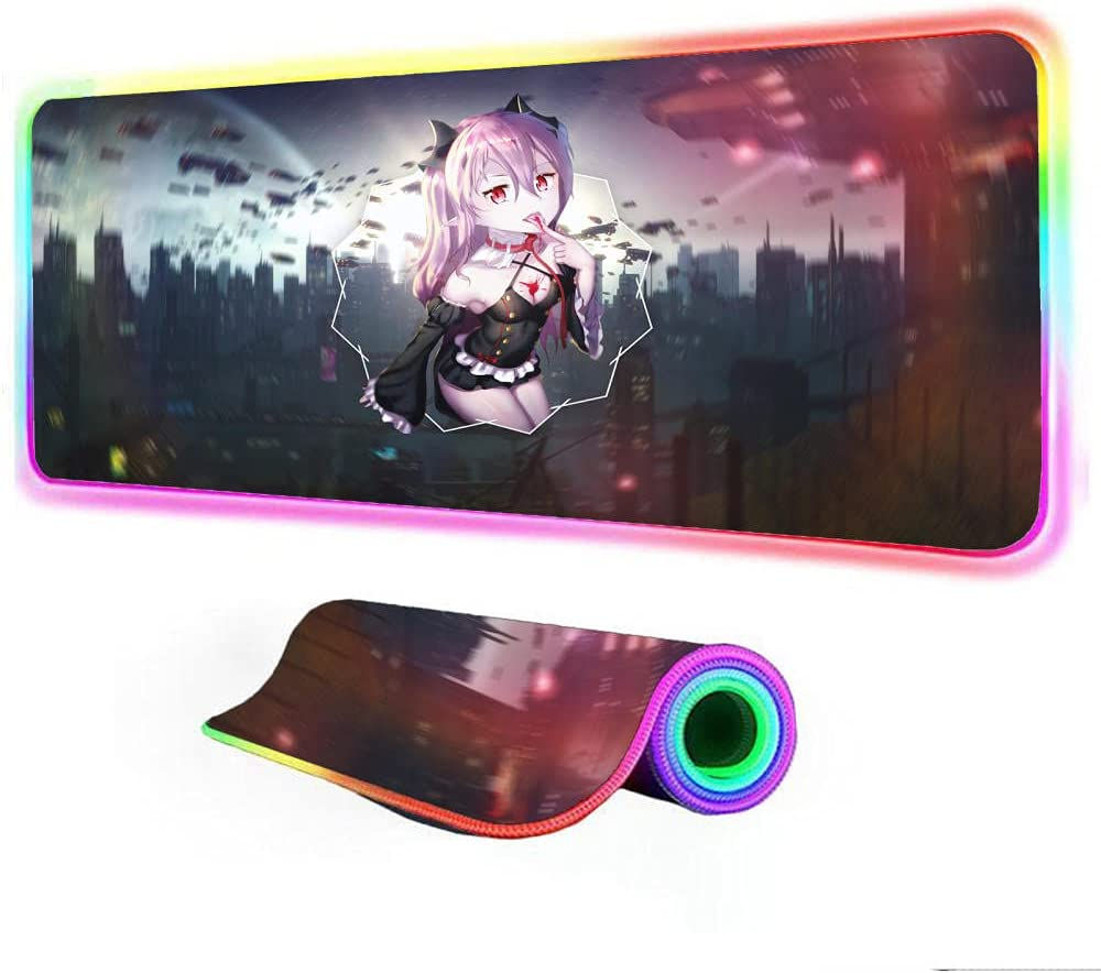Mouse Pads Anime Don't miss the campaign Seraph of The end Gaming RGB 7 L Easy-to-use with Pad