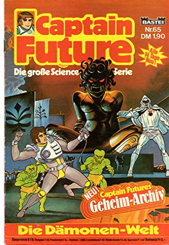 Unbekannt Captain Future - Die große Science-Fiction-Serie Comic # 65: Die Dämonen-Welt