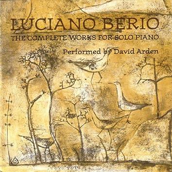 Luciano Berio - The Complete Works For Solo Piano
