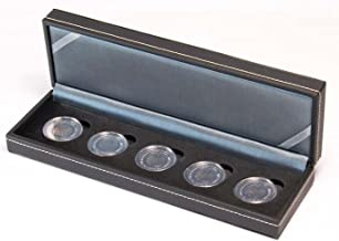 Lindner S2362-5EK Coin case NERA S for 5 x 5 EURO collector coins GERMANY, incl. coin capsules