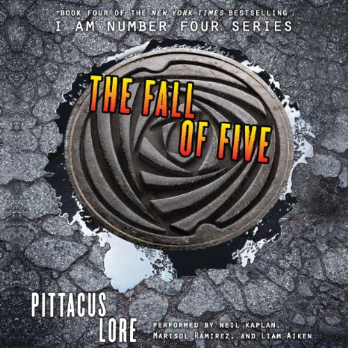 The Fall of Five audiobook cover art