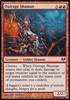 Magic: the Gathering - Outrage Shaman - Eventide