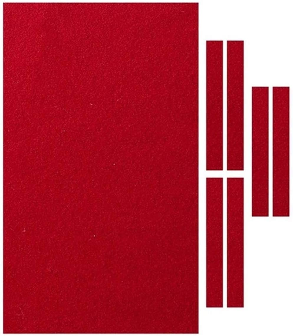 DFNESNN Red Billiard Cloth Popular product Pool C Austin Mall Table Eight Ball