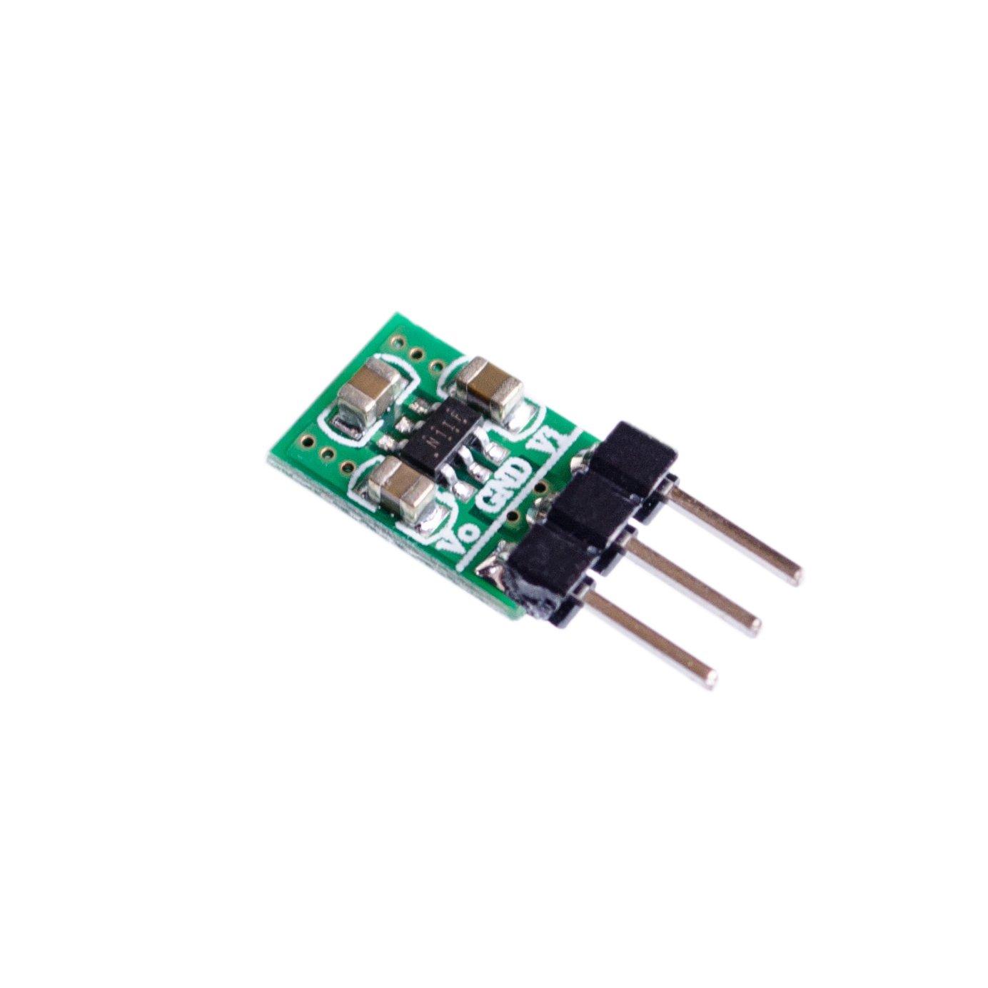 10PCS/LOT Mini 2 in 1 DC DC Step-Down & Step-Up Converter 1.8V-5V to 3.3V Power WiFi Bluetooth ESP8266 HC-05 CE1101 LED Module