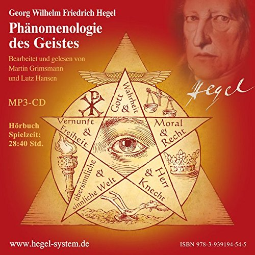 Phänomenologie des Geistes cover art