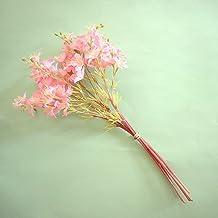 Flores Artificiais - Buquê Flor-do-Campo Rosa   Linha permanente Formosinha