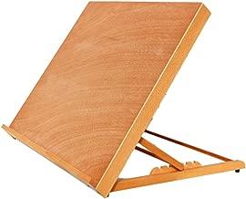 Kuyal Drawing Board, Adjustable Solid Wood Painting Board 25